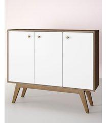 aparador buffet/bar blend branco estilare móveis