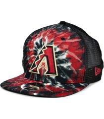 new era arizona diamondbacks tie dye mesh back 9fifty cap