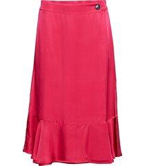 day time knälång kjol rosa day birger et mikkelsen