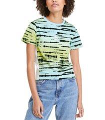 puma women's tie-dyed t-shirt