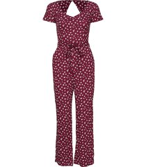 dress jumpsuit röd hollister