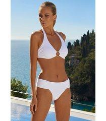 melissa odabash brussels bikini white ribbed
