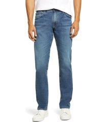 men's ag men's tellis slim fit stretch jeans, size 33 x 32 - blue