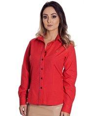 camisa pimenta rosada daya vermelha
