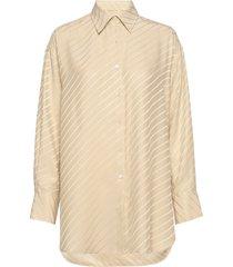 nina silk shirt overhemd met lange mouwen beige filippa k