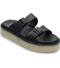 desert sndl shoes summer shoes flat sandals svart clarks originals