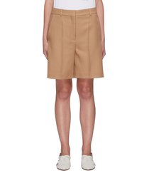 amber' tailored shorts