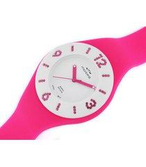 reloj fucsia montreal