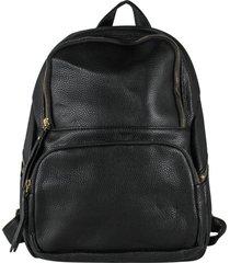 mochila bolsillo rectangular negro mailea