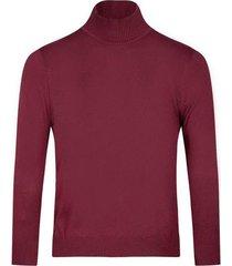 suéter slim fit cuello tortuga para hombre 05229