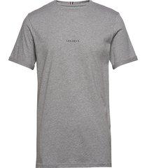 lens t-shirt t-shirts short-sleeved grå les deux