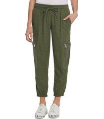 dkny jeans zip-pocket cargo pants