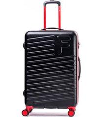 maleta sport negro rojo 28 f
