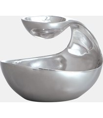nambe scoop mini tiered bowl server, size one size - none