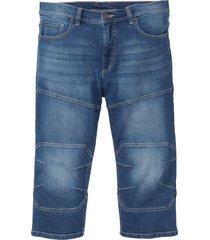 jeans elasticizzato 3/4 regular fit (blu) - john baner jeanswear