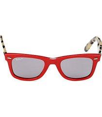 rb2140 50mm square sunglasses