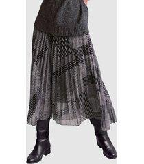 kjol alba moda antracitgrå::grå