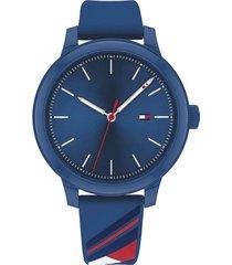 reloj azul tommy hilfiger 1782232 - superbrands