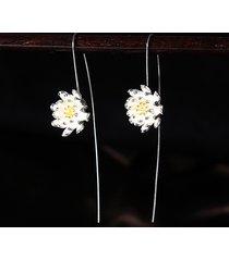 orecchini eleganti dell'argento sterlina dell'annata s925