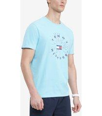 tommy hilfiger men's majesty logo graphic t-shirt