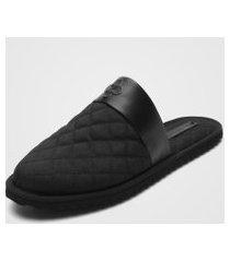 pantufa capodarte lounge wear preta