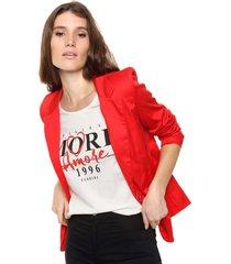 blazer rojo mochi gardenia