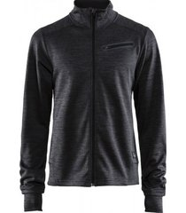 craft jas men breakaway jersey black melange