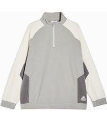mens multi gray and cream sweatshirt
