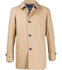 herno laminar trench coat - neutrals