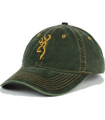 browning shooting sports legacy cap adjustable green baseball style cap hat