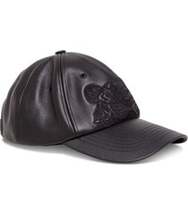 baseball cap leather icon tiger logo