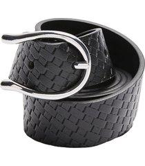 women's topshop textured wishbone buckle belt