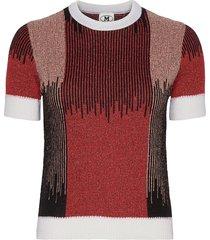 2dn00310-2k007k t-shirts & tops short-sleeved multi/mönstrad m missoni