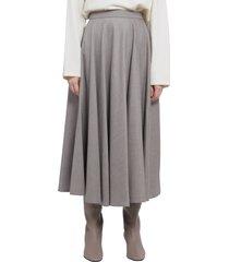 gentry portofino taupe skirt