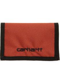 men's carhartt work in progress payton wallet - orange
