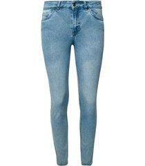jean slim azul lavado color azul, talla 14
