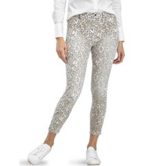 hue women's jaguar high rise skimmer dapper denim legging