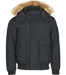 parka jas calvin klein jeans fur trimmed down jacket