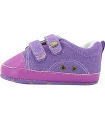 zapatilla casual abie morado md