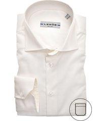 ledub overhemd ecru modern fit