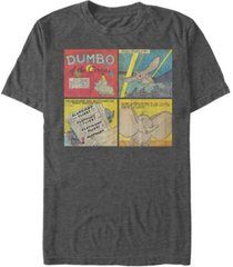 fifth sun men's dumbo comic panel short sleeve t-shirt