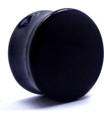 alargador vintage alargadores plug preto leitoso