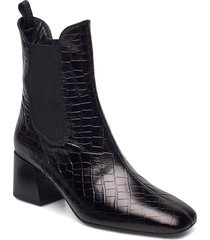 mante_lau shoes boots ankle boots ankle boot - heel svart unisa