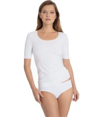 calida natural luxe short sleeved top * gratis verzending *