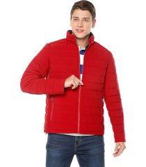 chaqueta doble faz rojo-azul navy nautica