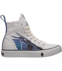 scarpe sneakers alte uomo wings
