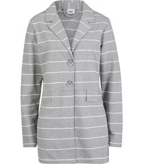 blazer in jersey (grigio) - bpc bonprix collection