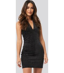 mango vilu dress - black