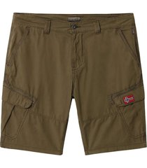 napapijri nadi 2 - np0a4e1 shorts and bermudas men green