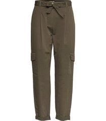 crop leisure trouser casual byxor grön gerry weber